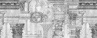 Architectural Contemporary Drawing Art Wallpaper Mural