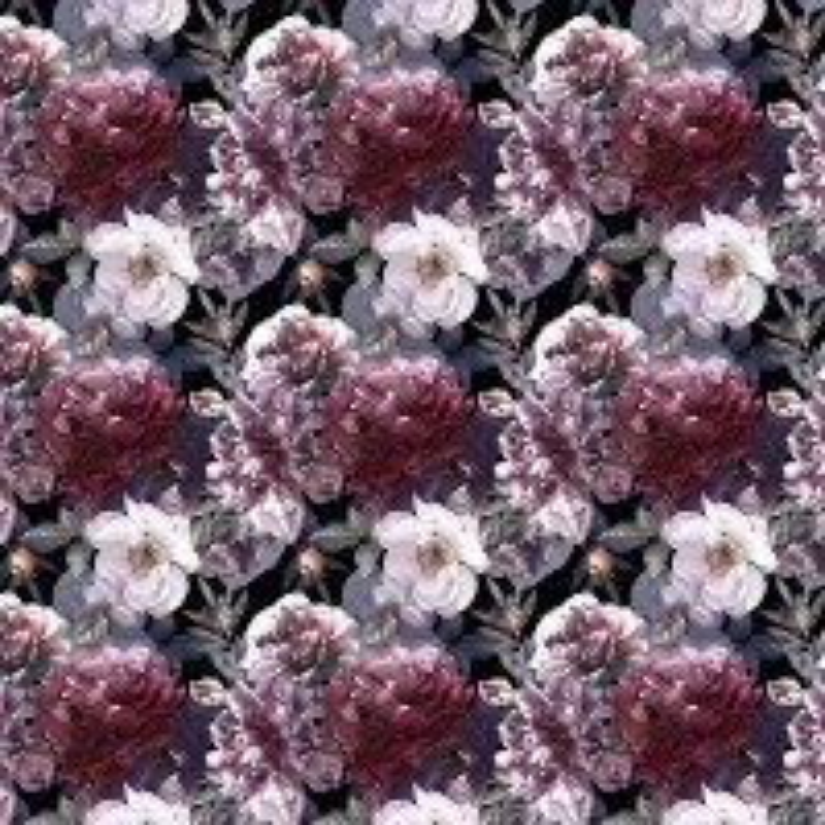 Hydrangea Floral Wallpaper Mural