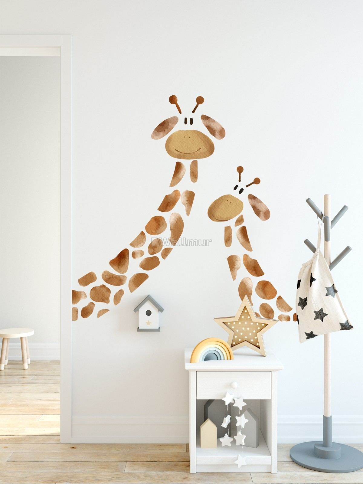 Giraffe Wall Decal Sticker