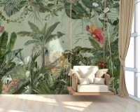 Tropical Forest Wallpaper Mural