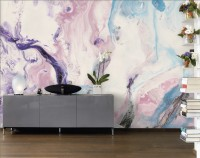 Soft Acrylic Style Brush Wallpaper Mural