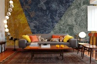 Patchwork Patterned Wallpaper Mural