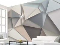 Geometric Trigon Wallpaper Mural