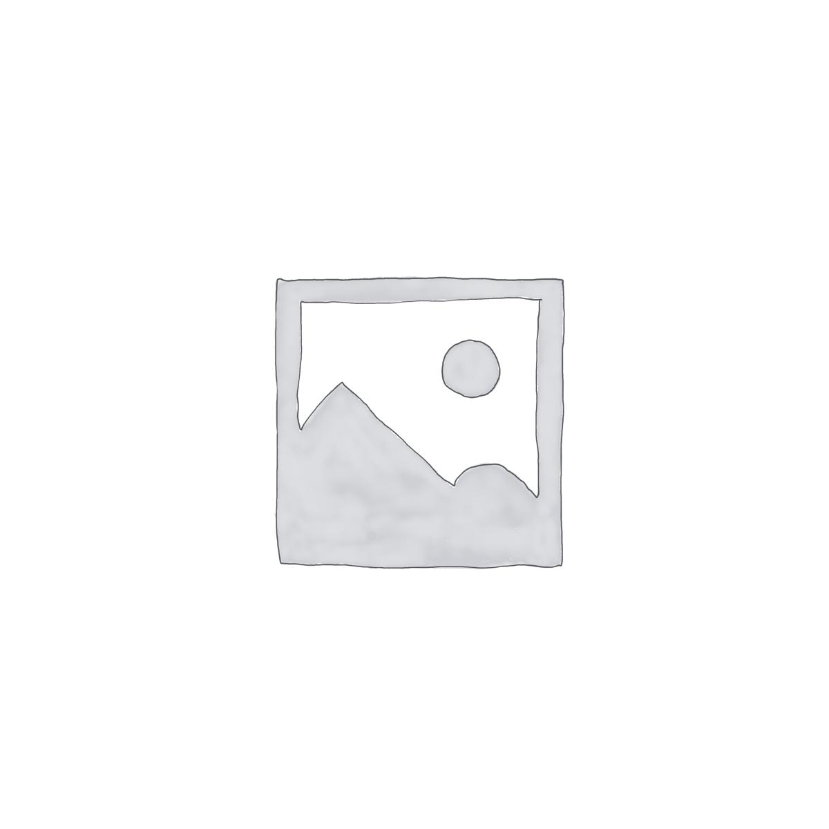 Kids Blue Brown Mountainscape with Hot Air Balloon Wallpaper Mural