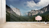 Mountain Landscape Wallpaper Mural