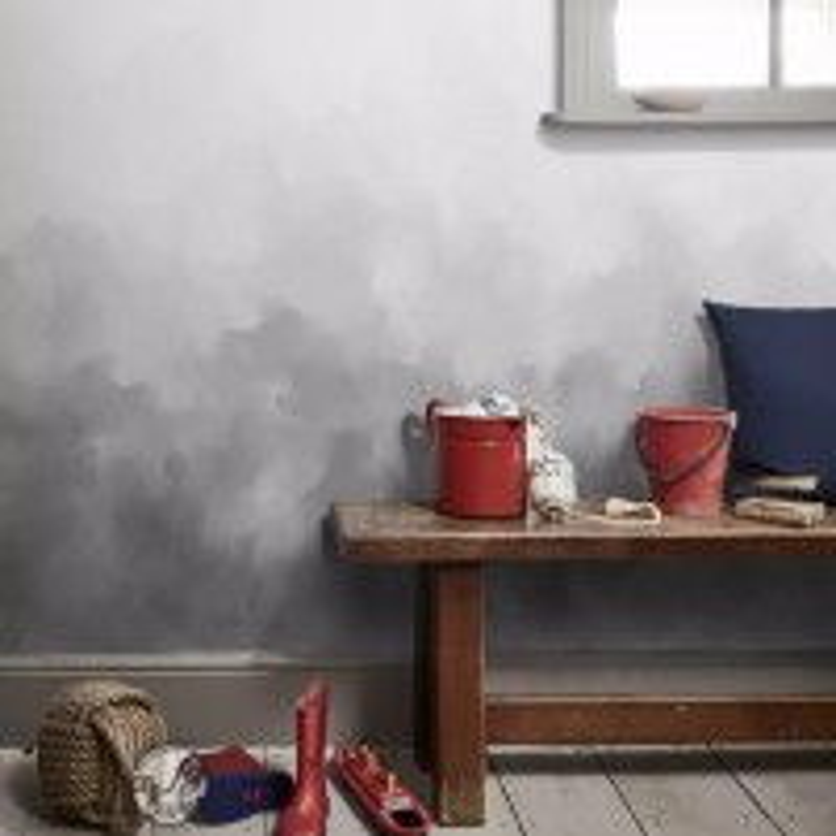 Dark Smoke Wallpaper Mural