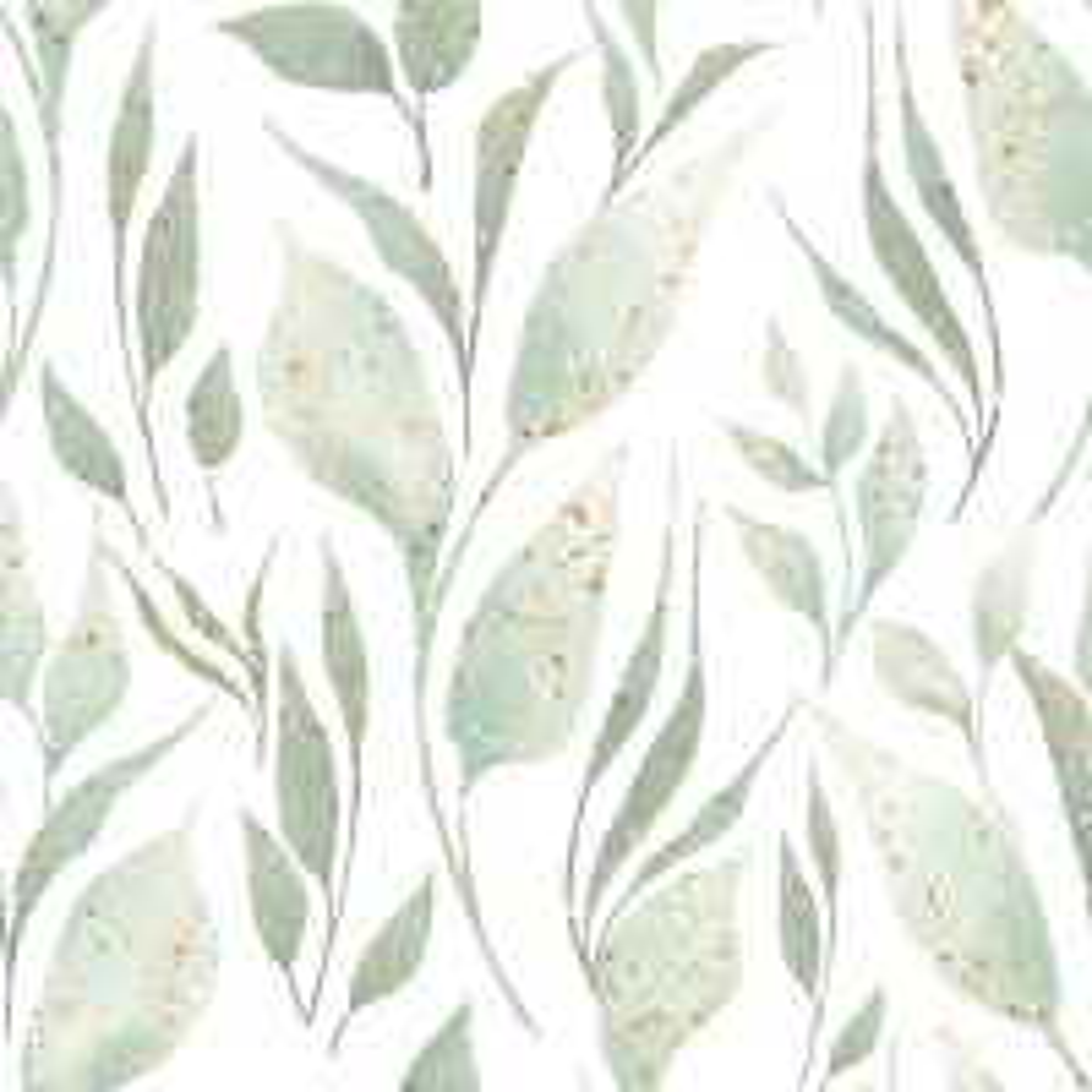 Sparkle Leaf Wallpaper Mural