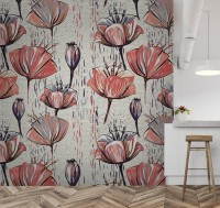Spring Tulip Flower Wallpaper Mural