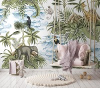 Tropical Paradise Wallpaper Mural