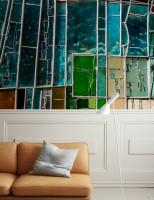Colorful Stained Glass Wallpaper Mural