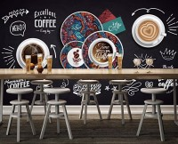 Vintage Coffee Wallpaper Mural
