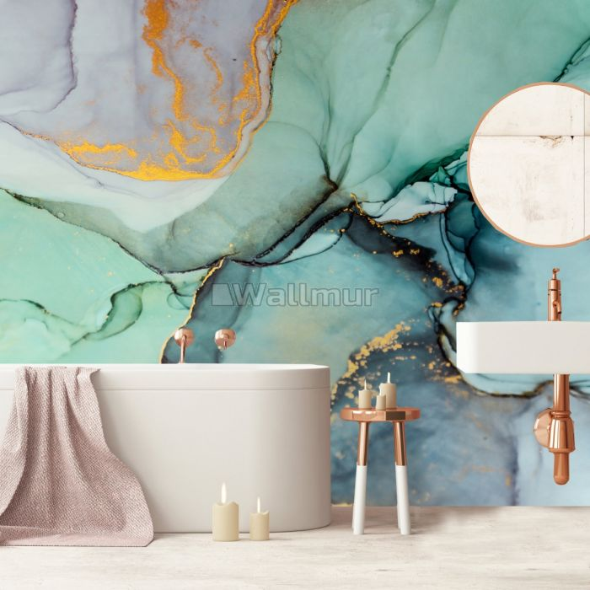 Colorful Marble Wallpaper Mural